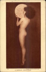 Nude Woman Afro Hair La Danseuse Constantinova Pierre Carrier-Belleuse PC