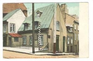 Where Montcalm has his Headquarters, St. Louis Street, Quebec, Canada, PU-1911