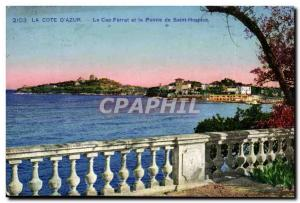 The Cap Ferrat and the Pointe de Saint Hospice - Old Postcard