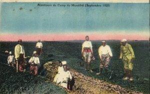PC CPA SYRIA, ALENTOURS DU CAMP DU MUSÉIFRÉ, Vintage Postcard (b16564)