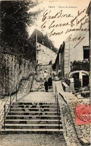CPA GRAY - Tertre du Chateau (452272)