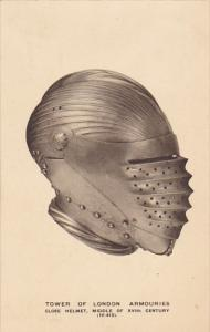 Tower Of London Armouries Close Helmet Middle Of XVIth Century