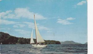 Sail Boat, Greetings From New Wasaga Beach, Ontario, Canada, PU-1959