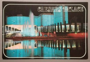 Gorgeous reflections of Caesars Palace, Las Vegas, Nevada Postcard