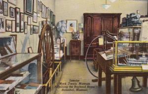 Missouri Hannibal Mark Twain Museum Interior