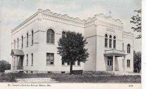 St. Joseph's Catholic Church, EDINA, Missouri, PU-1920