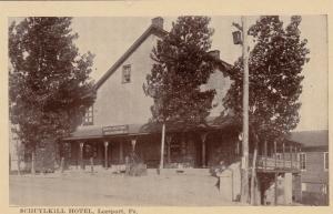LEESPORT , Pennsylvania, 00-10s ; Schuylkill Hotel