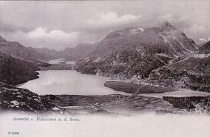 Switzerland Aussicht von Hahnensee