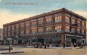 Hobb's Hotel Joliet Illinois 1910c postcard