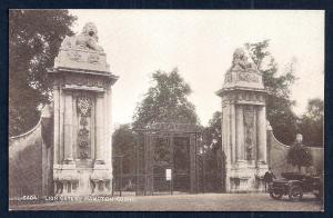 Lion Gates Hampton Court Palace England unused c1920's
