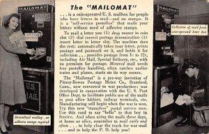 The Mailomat Occupation Unused