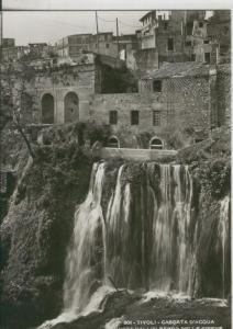 Postal 009964: Tivoli, cascata d?acqua albergo delle sirene