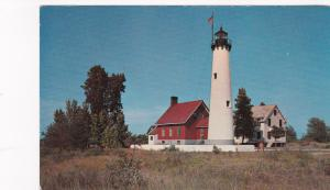 LIGHTHOUSE , Tawas Point , Great Lakes, 40-60s