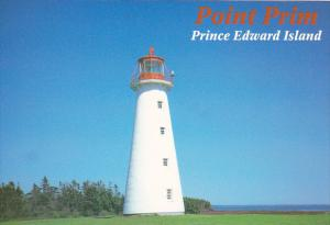 Canada Point Prim Lighthouse Prince Edward Island