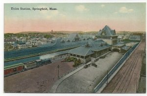 SPRINGFIELD, Massachusetts, 1900-10s; Union Station