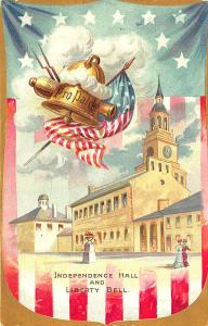 4th of July Canon Independence Day Raphael Tuck Postcard