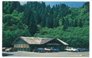 Gingerbread Village Restaurant Hwy 126 Mapleton Oregon postcard