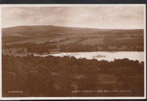 Scotland Postcard - Loch Lomond From Balloch Castle    MB1091