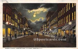 Market Street Corning NY 1921