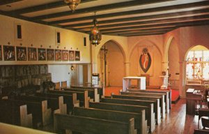 DARIEN , Conn. , 1950-60s ; Convent of St. Birgitta , Interior
