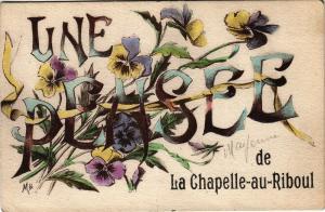 CPA Une pensee de la chapelle au riboul  (191652)