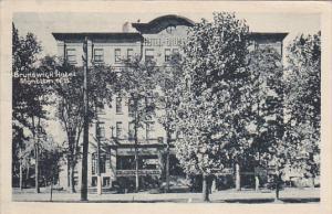 Brunswick Hotel, MONCTON, New Brunswick, Canada, PU-1927