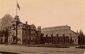 NY - Olean. New York State Armory