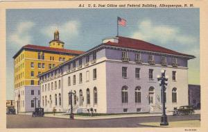 The U.S. Post Office and Federal Building, Albuquerque,New Mexico,30-40s