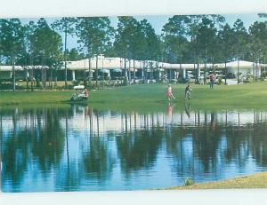 Pre-1980 GOLFING AT GOLF CLUB Freeport Grand Bahama Island Bahamas F6399