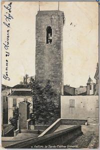 FRANCE carte postal CPA - VINTAGE POSTCARD - Alpes-Maritimes: Antibes 1909