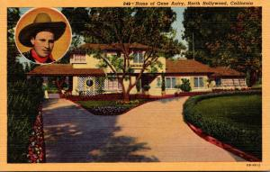 California North Hollywood Home Of Gene Autry Curteich