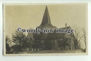 cu1877 - St. Andrew's Church and Cemetry, Alfreston, Sussex - Postcard