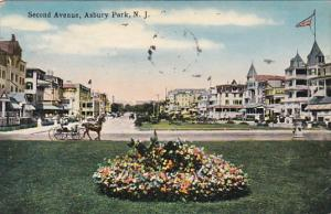Second Avenue Asbury Park  New Jersey 1917