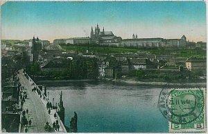 VINTAGE POSTCARD:  CZECH REPUBLIC - Prague   Praha 1914