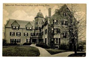 MA - South Hadley. Mt Holyoke College, Safford Hall