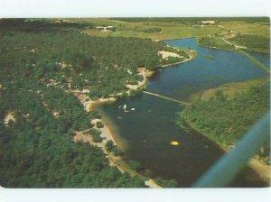 Pre-1980 PARK SCENE Cape Cod - East Wareham Massachusetts MA AF7159