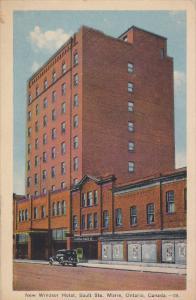 SAULT STE. MARIE, Ontario, Canada, PU-1938; New Windsor Hotel, Imperial Radio...