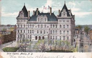 New York Albany State Capitol 1906