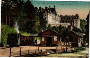 CPA AIX-les-BAINS - La Gare du Revard (252154)