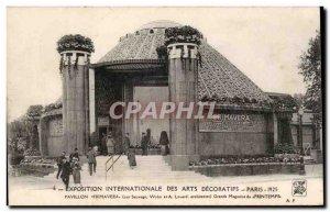 Postcard Old Paris International Exhibition Decorative Arts Pavilion 1925 Pro...