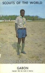Gabon Boy Scouts of America, Scouting Postcard, Post Cards, Copyright 1968  G...