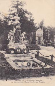 France Abbeville Cimetiere Le Monument de l'Amiral Courbet par Fontaine