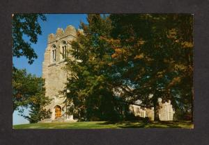 MA Russell Sage Chapel Northfield School For Girls Mass Massachusetts Postcard