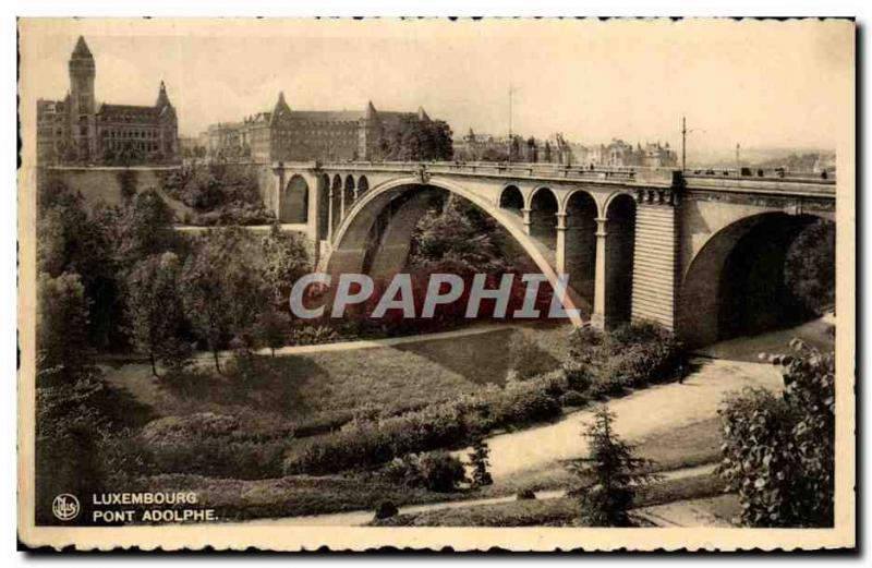 CPA Luxembourg Pont Adolphe