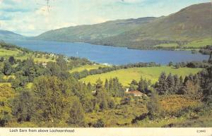 B101642  loch earn from above lochearnhead   scotland 14x9cm