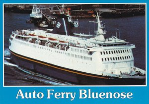 Canada C N Marine Ferry Bluenose Nova Scotia