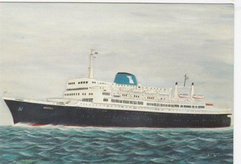 Ocean Liner S.S. BRAZIL , 1940-60s