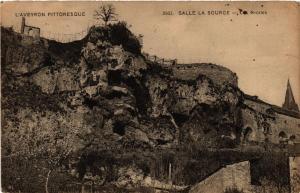 CPA SALLES-la-SOURCE - Les Grottes (475324)