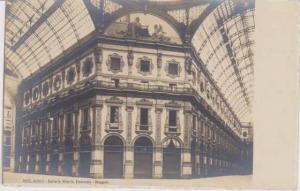 RP: Interior View of Galleria Vittorio Emanuele, Ottagono, Milano, Lombardia,...