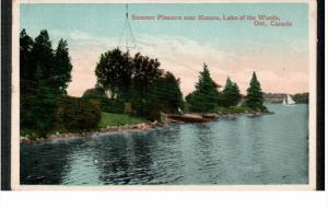 LAKE OF THE WOODS, Ontario, Canada; Summer Pleasure near Kenora, 10-20s